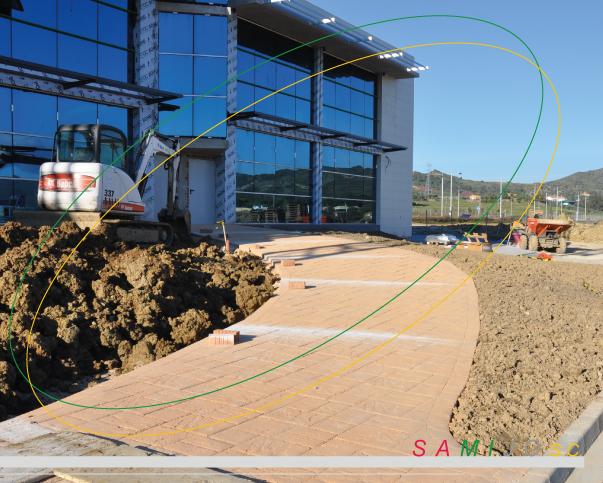 Hormigon impreso malaga o pavimentos la frontera empresa for Pavimento de hormigon tarragona